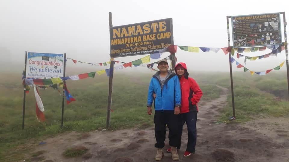 Annapurna base camp trek from Indonesia
